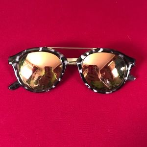 Double barred sunglasses